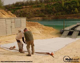 BRAX™: bridge access and egress mats